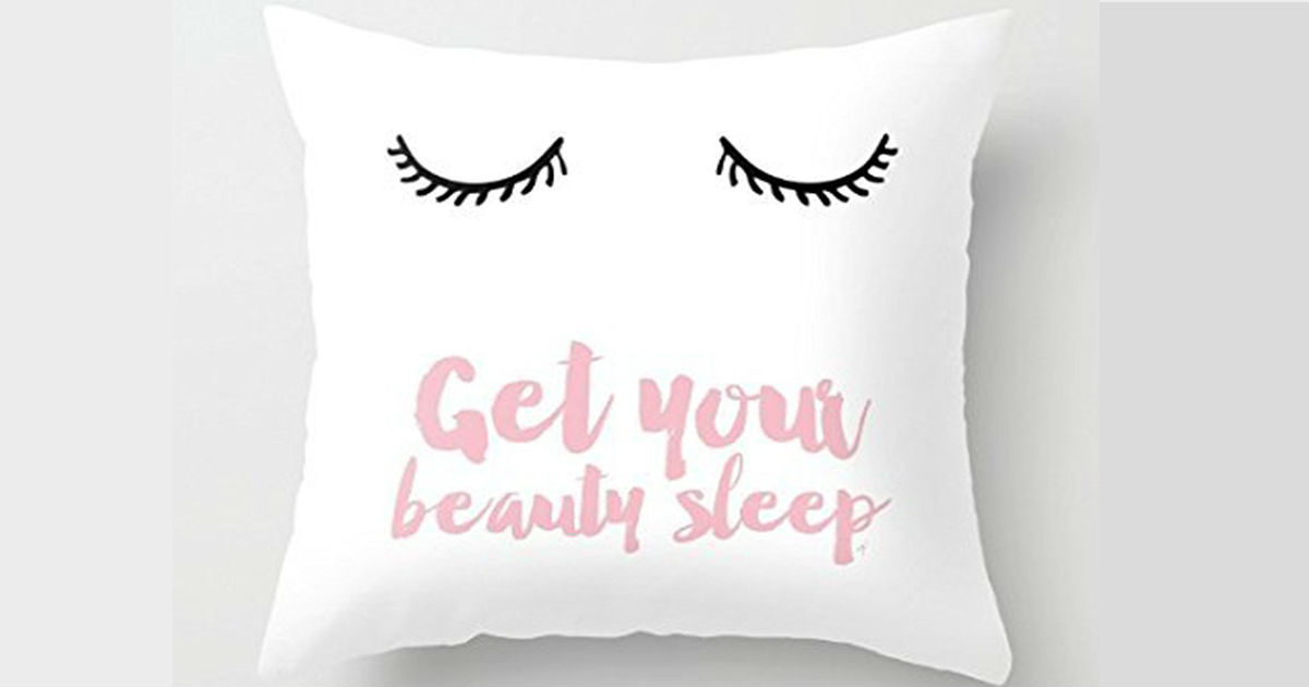 $2.87 + FREE Shipping 'Get Your Beauty Sleep