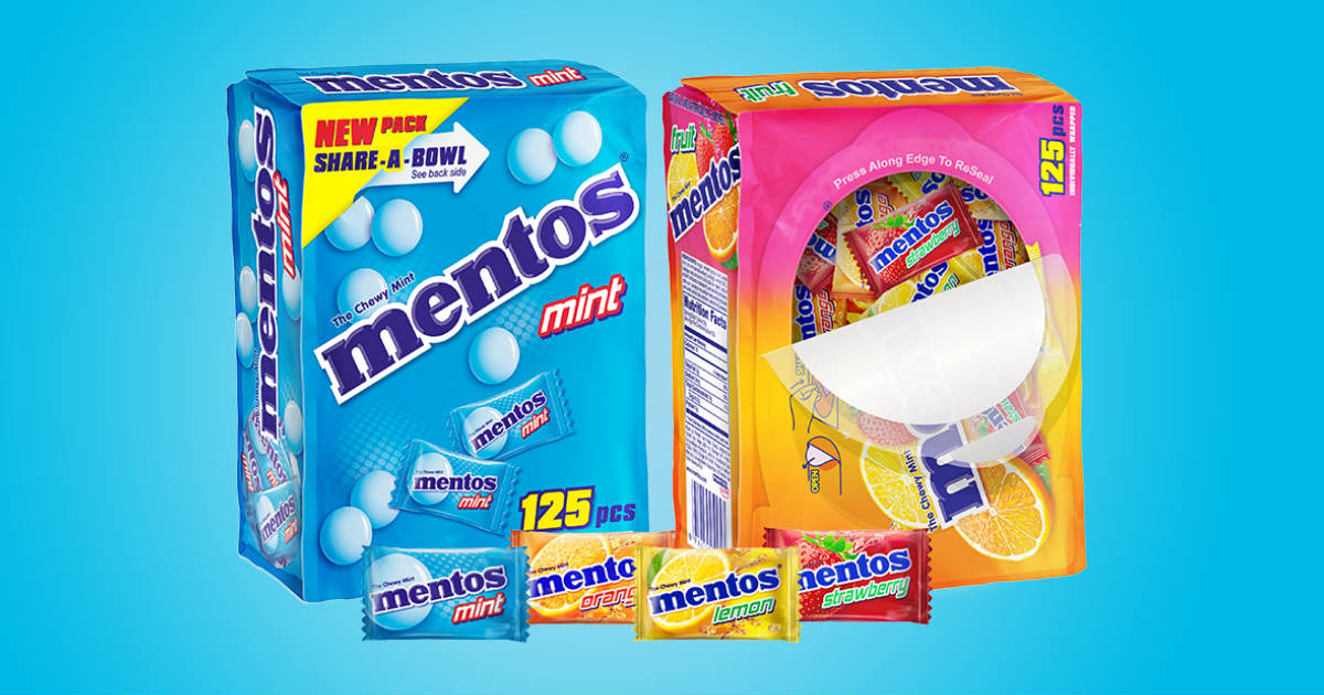 Individually-wrapped Mentos Deal at Target
