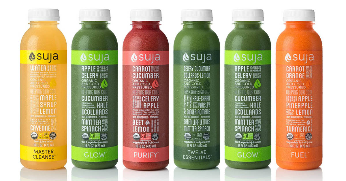 Suja Organic Juice deal at Walmart