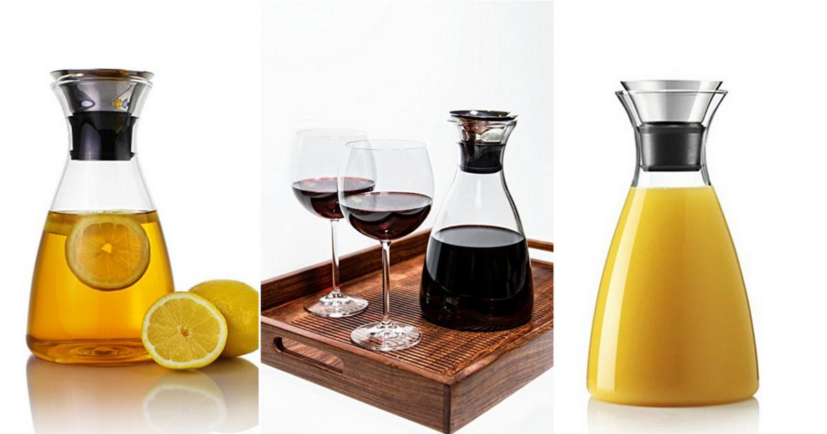 Heat Resistant Glass Carafe
