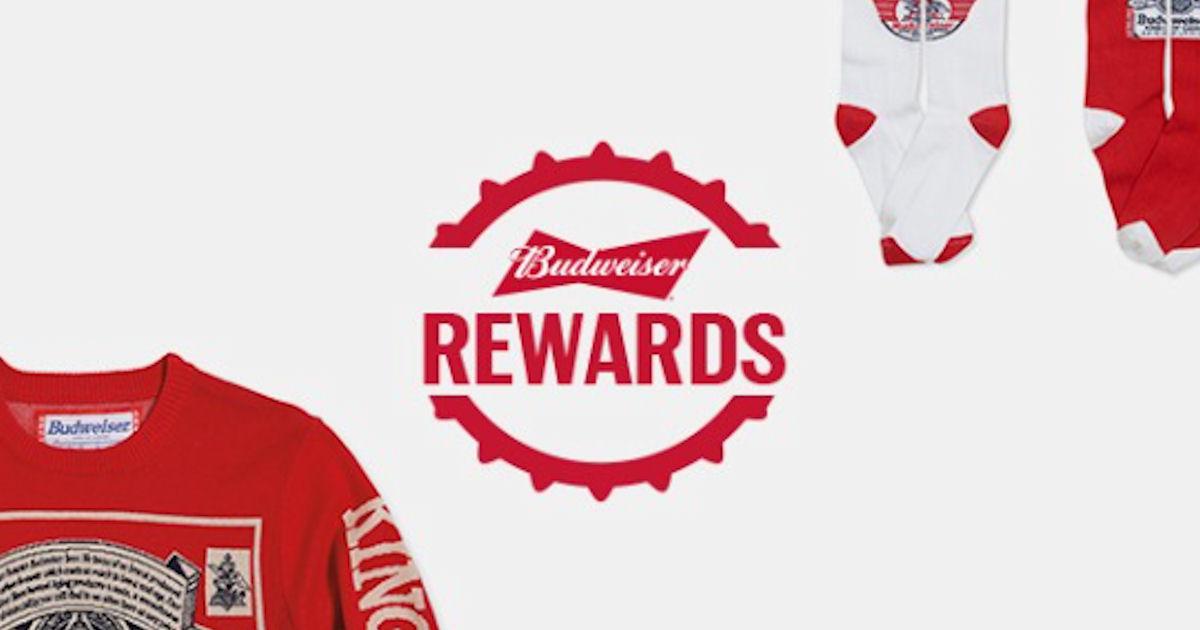 FREE Budweiser Swag + 25 Free.