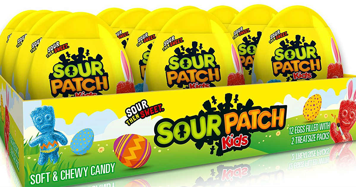 $0.80 each Sour Patch Kids Easter Egg on Amazon