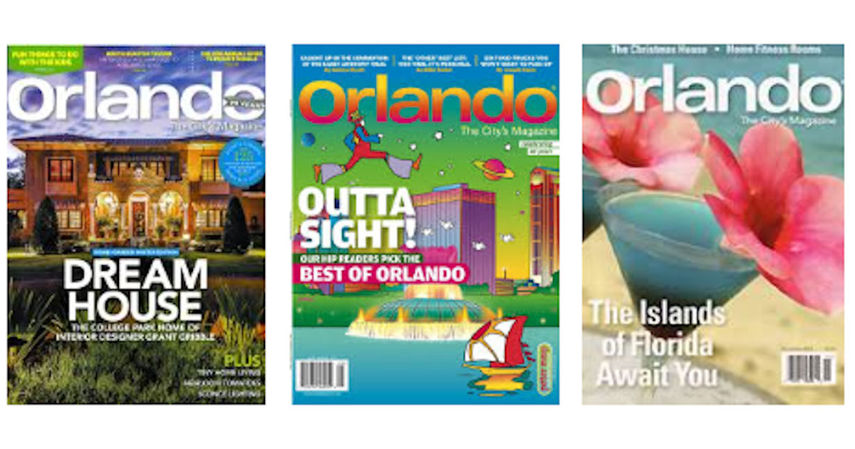 FREE Subscription to Orlando Magazine
