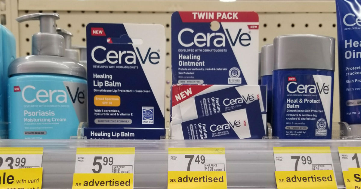 photograph relating to Cerave Coupons Printable named CeraVe Items BOGO 50% Off at Walgreens + Coupon codes
