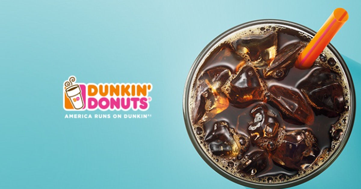 100% CASH BACK At Dunkin Donut...