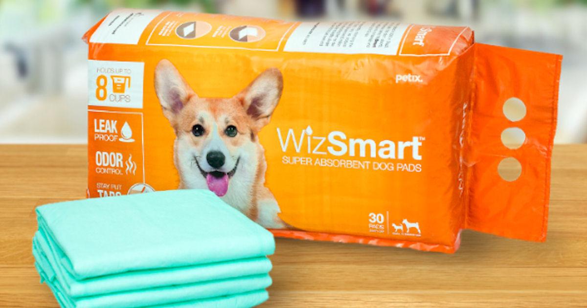 FREE WizSmart Dog Pads...