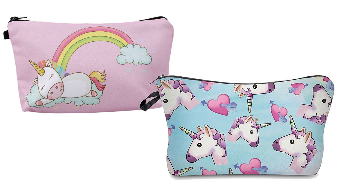 Unicorn Makeup Bags UNDER $2.5...