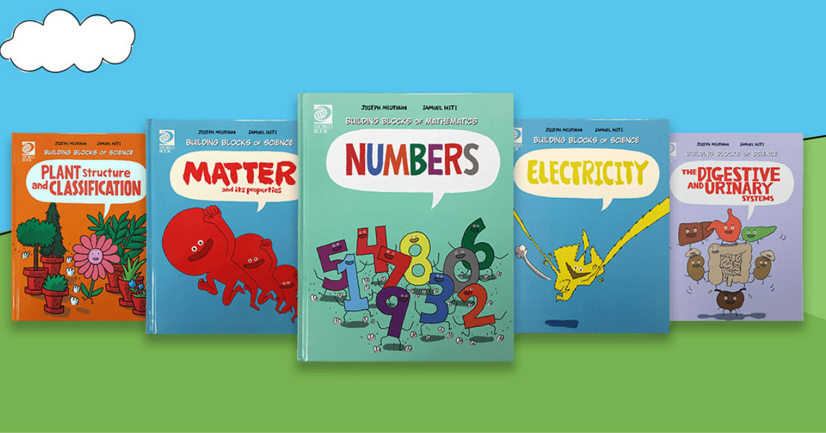 $0.50 Each Hardcover Math & Science STEM Books + Free Shipping