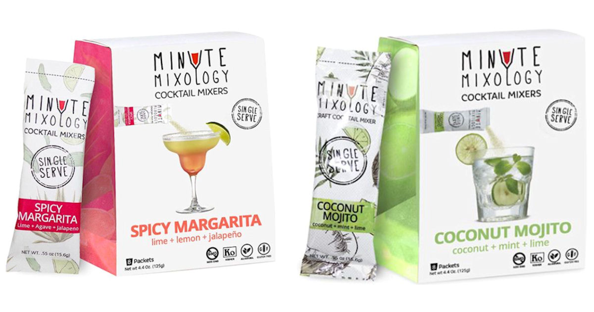 FREE Sample of Minute Mixology...