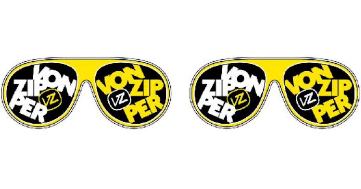 FREE VonZipper Stickers...