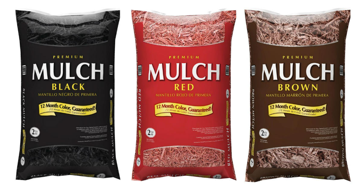 Mulch sale at Lowes