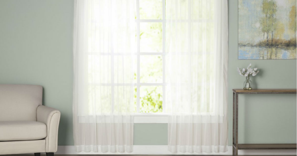 $5.24 Curtains & Drapes 2 Day Sale on Wayfair