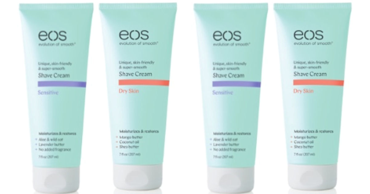 eos shave cream coupons