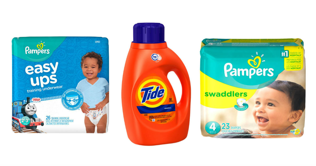 Pampers and Tide deal at CVS