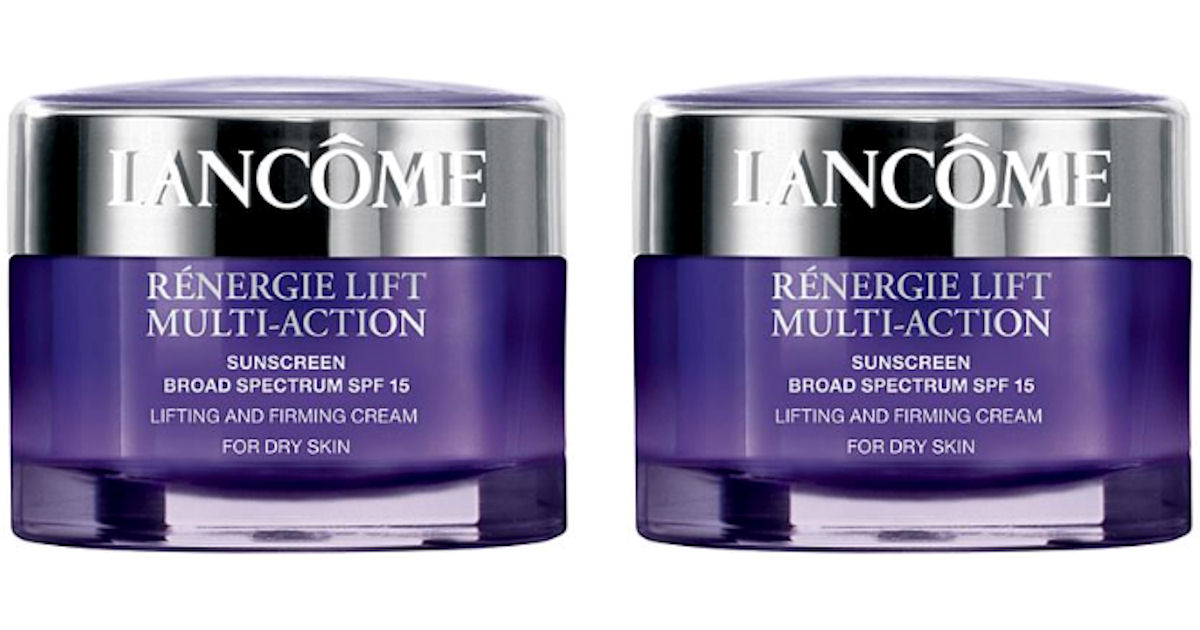 FREE Sample of Lancome Renergi...