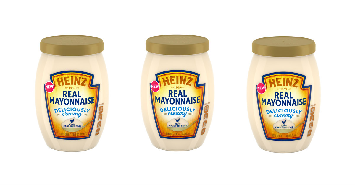 Free Heinz Real Mayo with Cage Free Eggs at Walmart