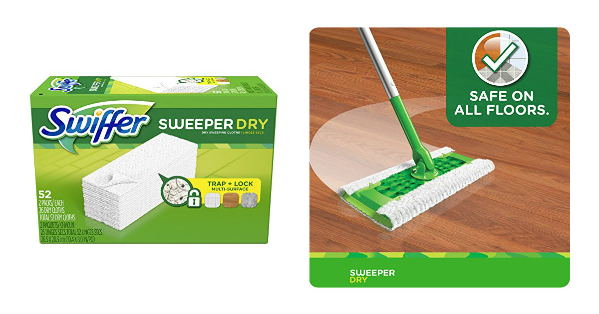 Swiffer Sweeper Cloths deal at Amazon