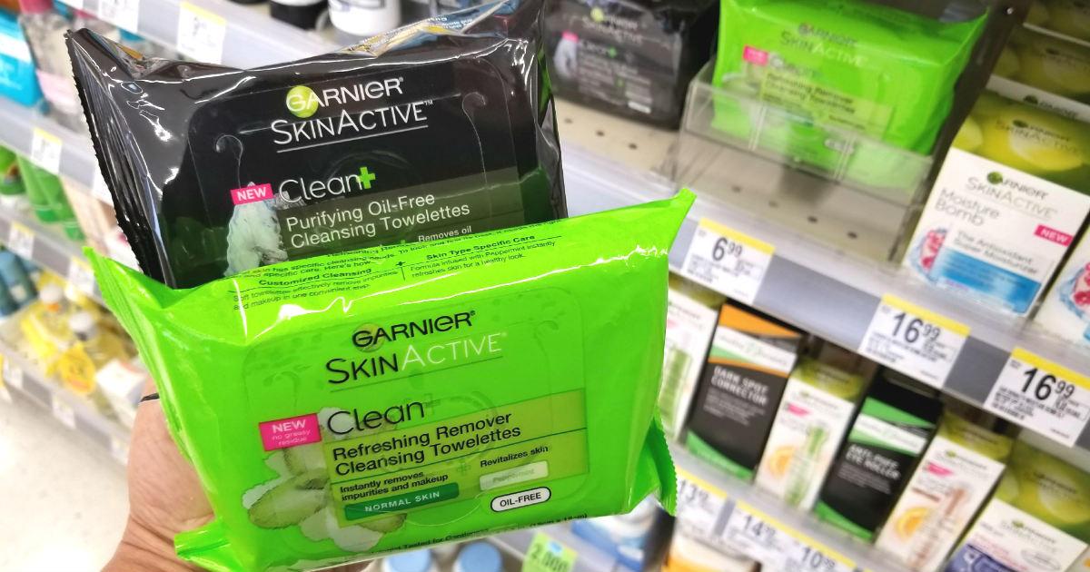 Garnier SkinActive deal at Walgreens