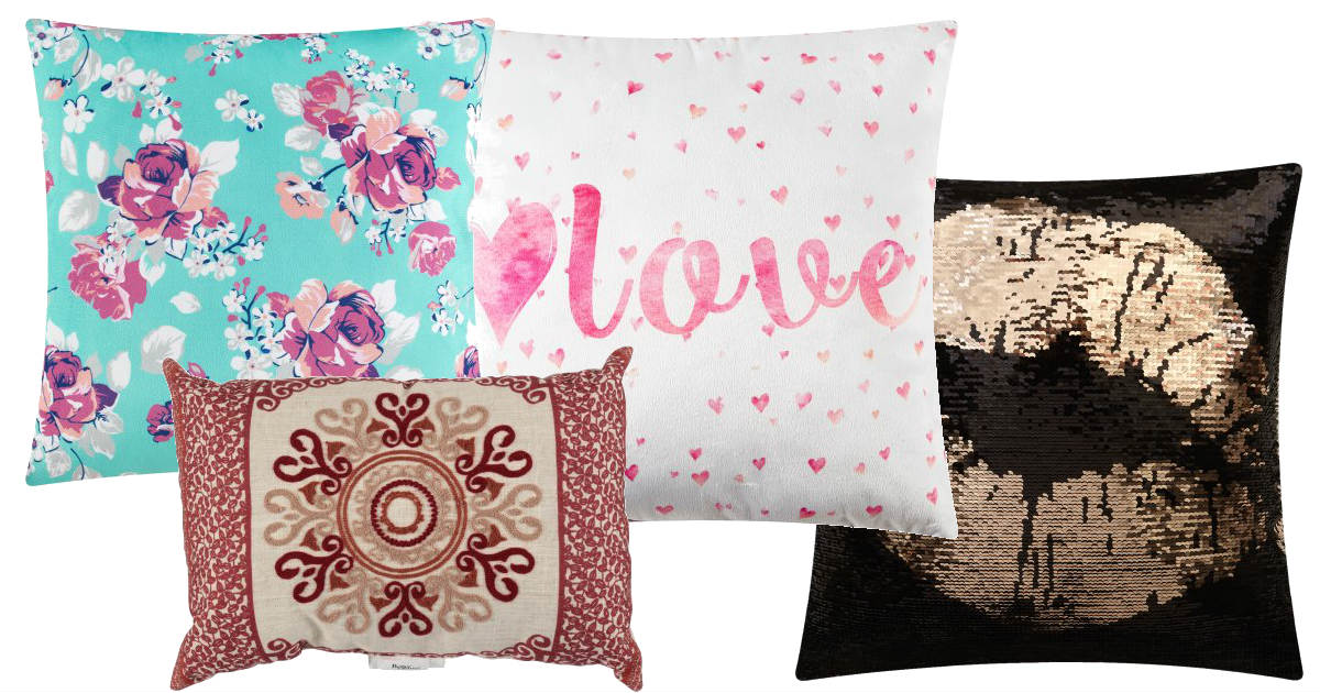 Throw Pillows Only $5 at Walma...