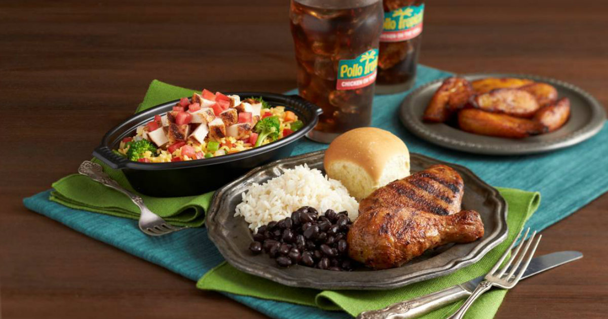 graphic about Pollo Tropical Printable Coupons titled $5 Off a $10 Obtain Printable Coupon at Pollo Tropical