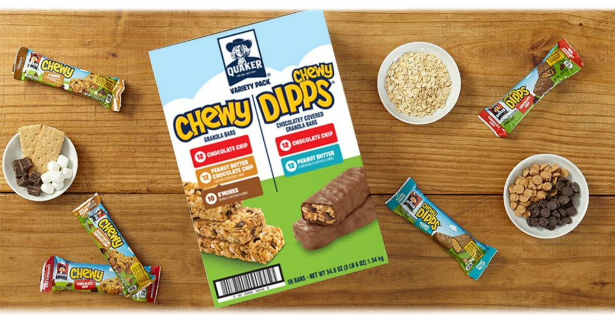 Quaker Chewy Dipps Variety 58-...