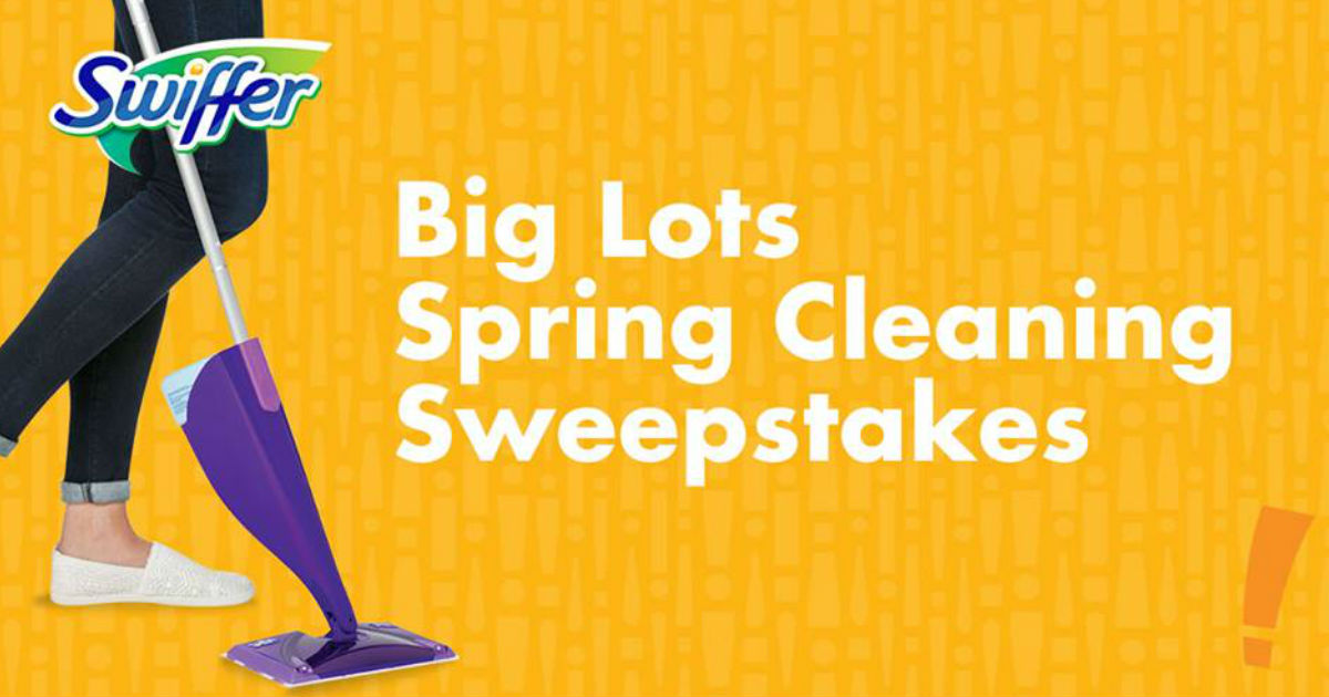 Win a Big Lots & Swiffer Spring Cleaning Prize Pack - Free