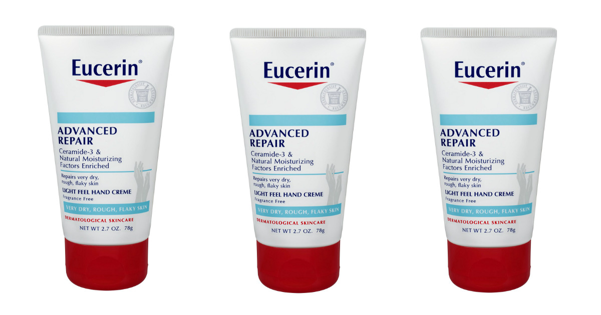 Eucerin Advanced Repair Hand Creme deal at Amazon