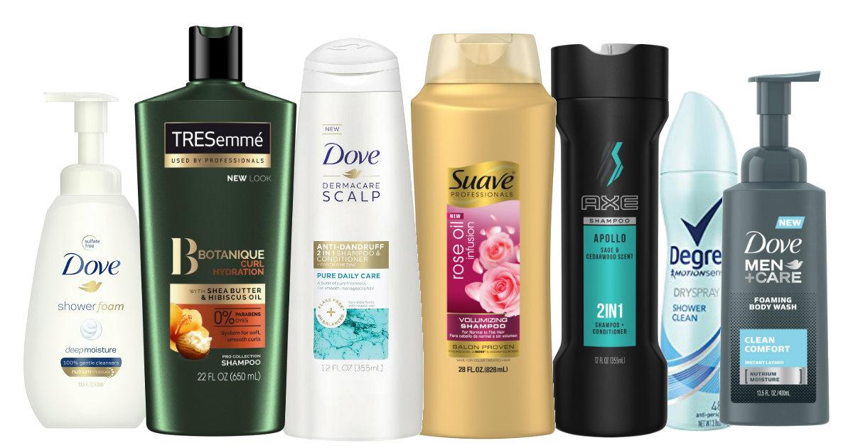 Unilever Products Fandango Rewards deal
