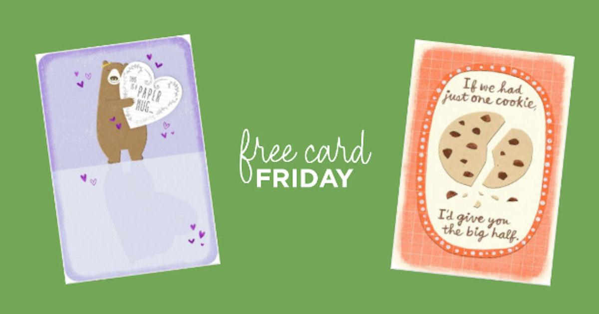 Free just because greeting card at hallmark free product samples free just because greeting card at hallmark m4hsunfo