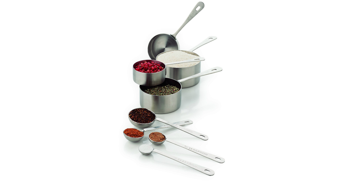 Amco Measuring Cups and Spoons deal at Amazon