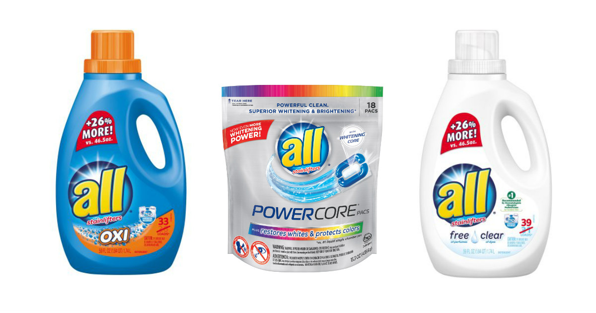 All Detergent at Walgreens