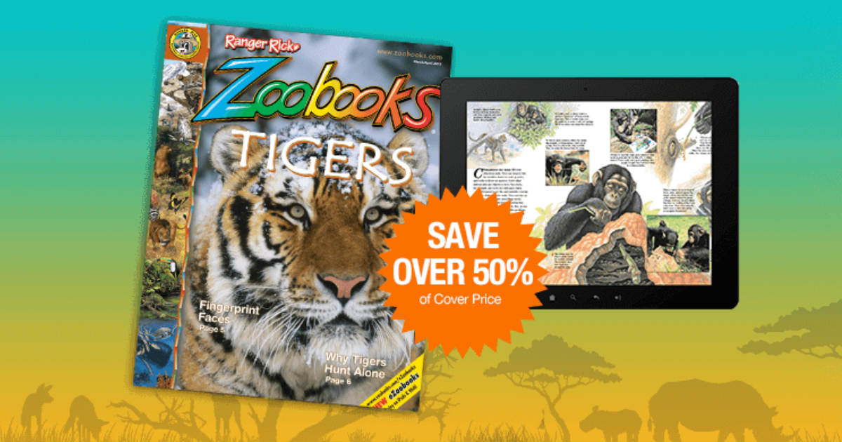 Zoobooks Magazine Subscription...