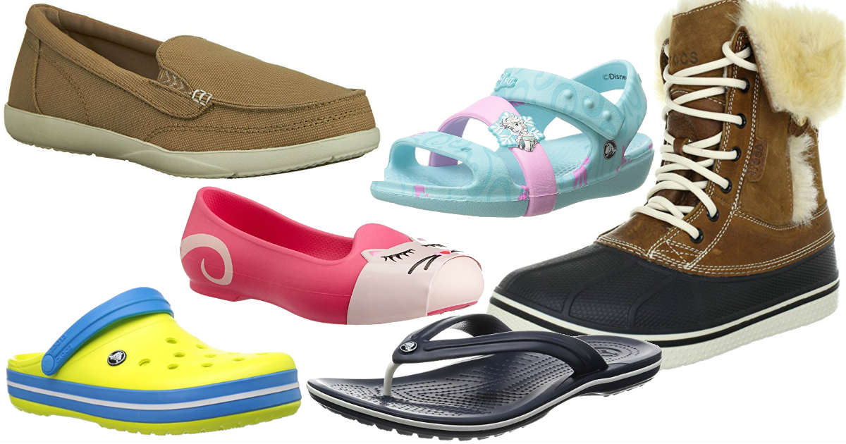Crocs Shoes on Sale for $17.50...