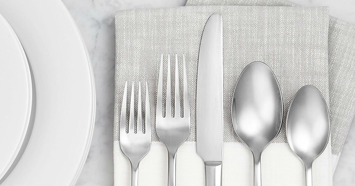 Silverware deal at Amazon
