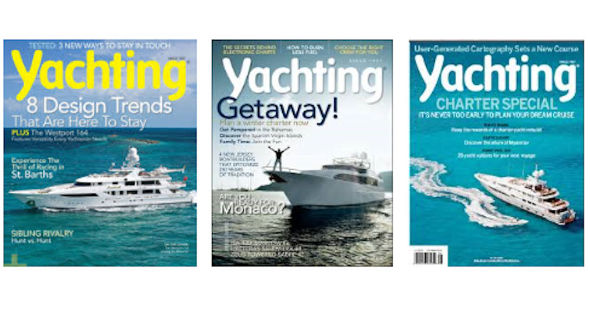 FREE Subscription to Yachting.