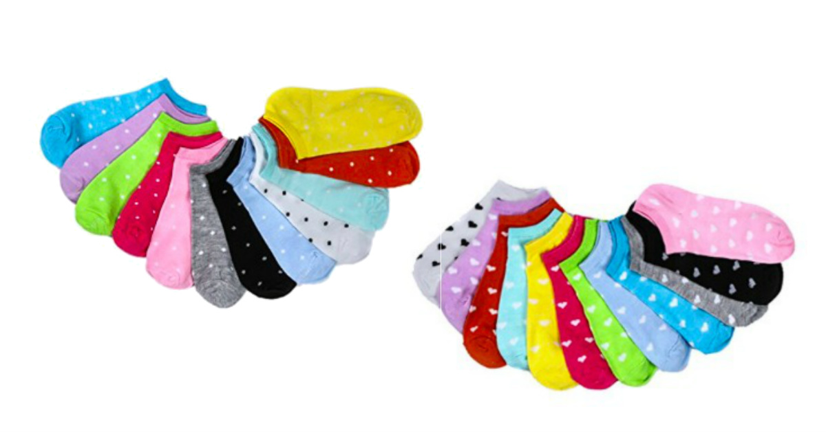 Pack of 5 Pairs of Socks Only.
