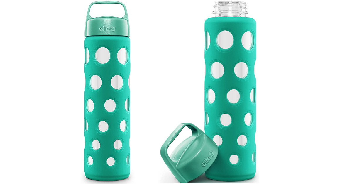$4.94 (Reg. $16) Ello Pure BPA-Free Glass Water Bottle