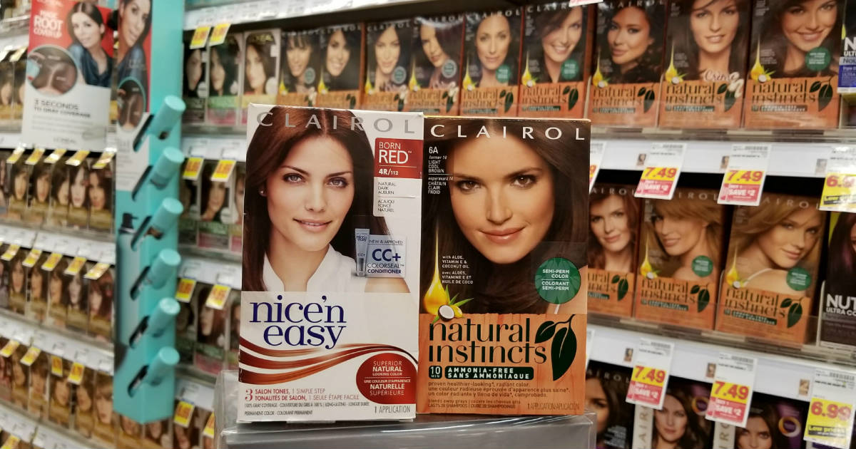 Clairol deal at Kroger