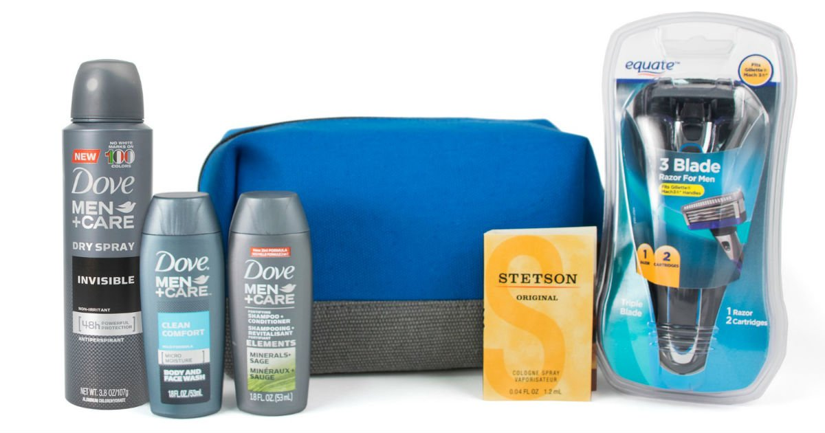 $7.00 Shipped ($21 Value Men's Grooming Box from Walmart