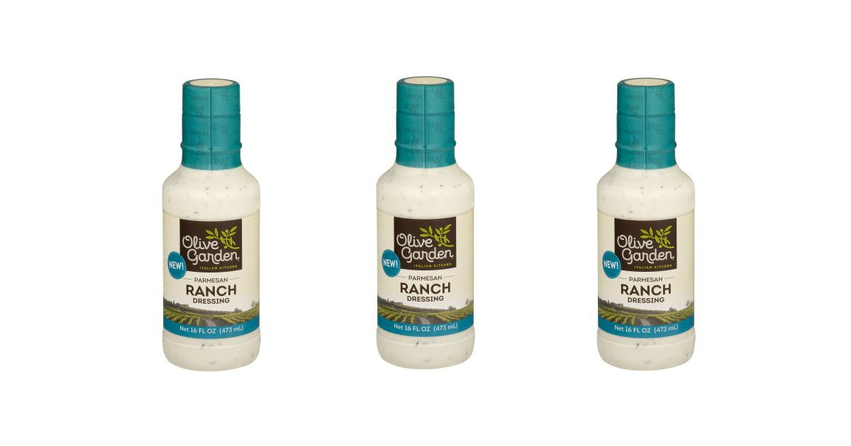 Olive Garden Parmesan Ranch Dressing High Value Coupon Deal Printable Coupons