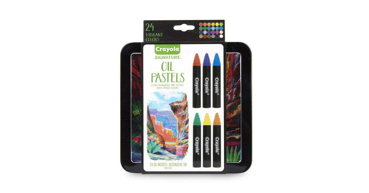 Crayola Oil Pastels deal at Amazon