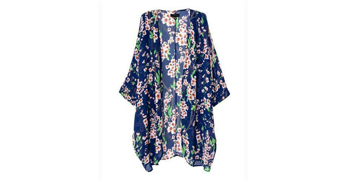 Kimono Swimsuit coverup at Amazon