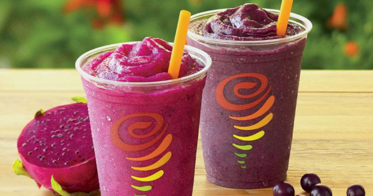 image relating to Jamba Juice Printable Coupon identify Jamba Juice - Coupon for Acquire 1 Acquire 1 Free of charge Juice