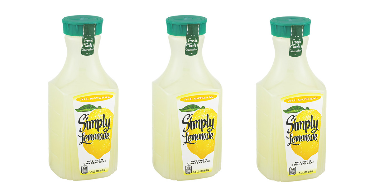 Simply Lemonade at Walgreens