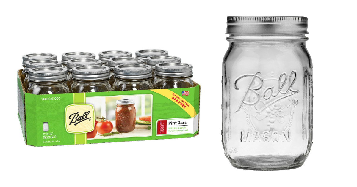 Ball Mason Jars at Target