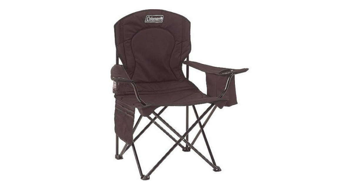 Coleman chair with cooler deal at Walmart