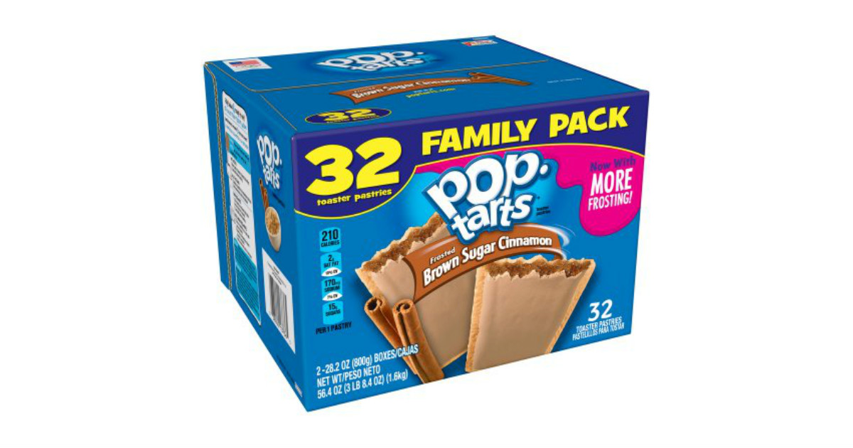 Pop-Tarts 32 ct Brown Sugar deal at Amazon