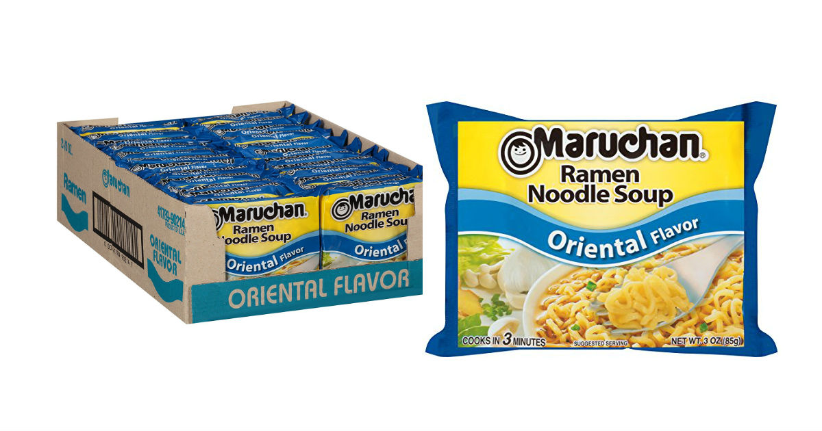 Maruchan Oriental Ramen Noodle Soup 24 pack Only $4.64 at Amazon
