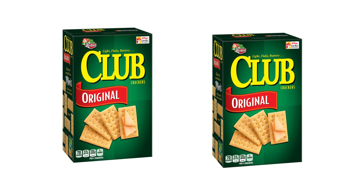 Keebler Club Crackers deal at Walgreens