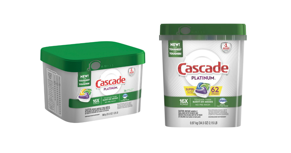 photograph relating to Cascade Coupons Printable referred to as Cascade ActionPacs Printable Coupon + Aim Reward Card Package deal